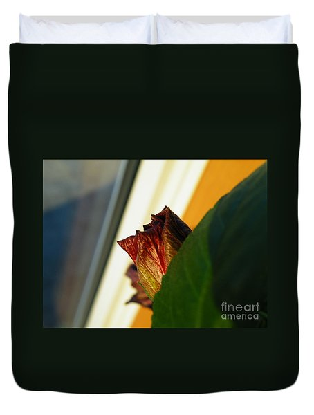 Duvet Cover featuring the photograph Mellow Mourning by Brian Boyle