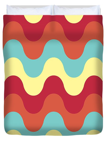 Melting Colors Pattern Duvet Cover