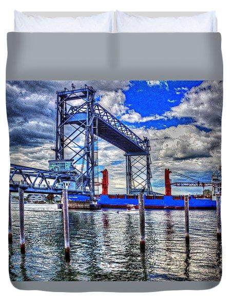 Memorial Bridge 034 Duvet Cover