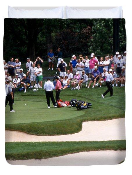 12w192 Memorial Tournament Photo Duvet Cover