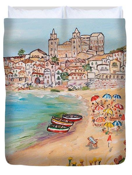 Memorie D'estate Duvet Cover by Loredana Messina