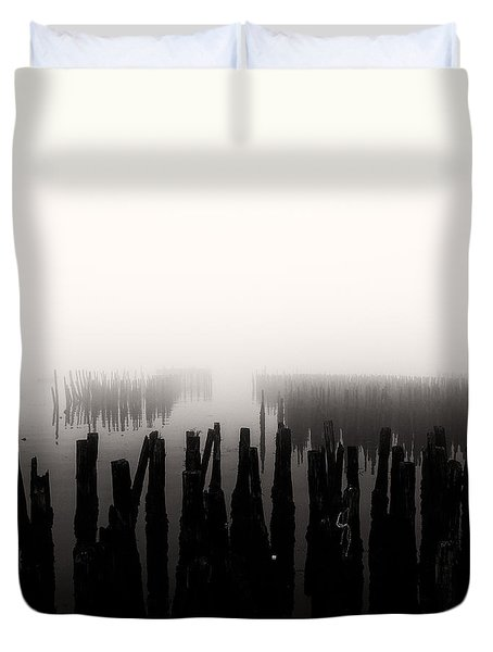 Memories And Fog Duvet Cover by Bob Orsillo