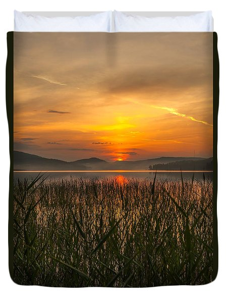 Duvet Cover featuring the photograph Peace Of Mind by Rose-Maries Pictures