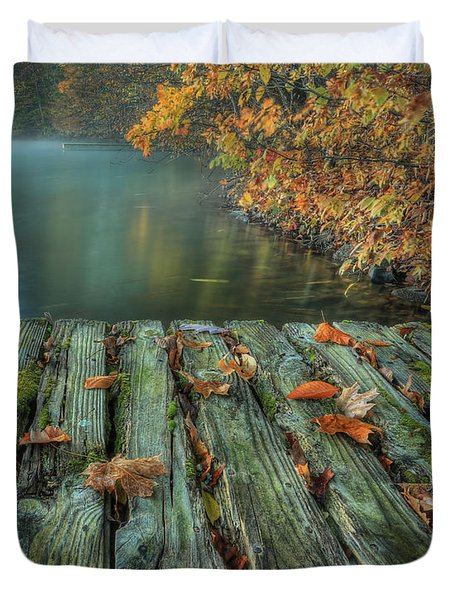 Memories Of The Lake Duvet Cover