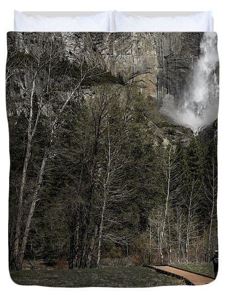 Memories Of Yosemite Duvet Cover by Eduard Moldoveanu