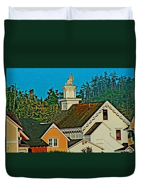 Mendocino California Duvet Cover