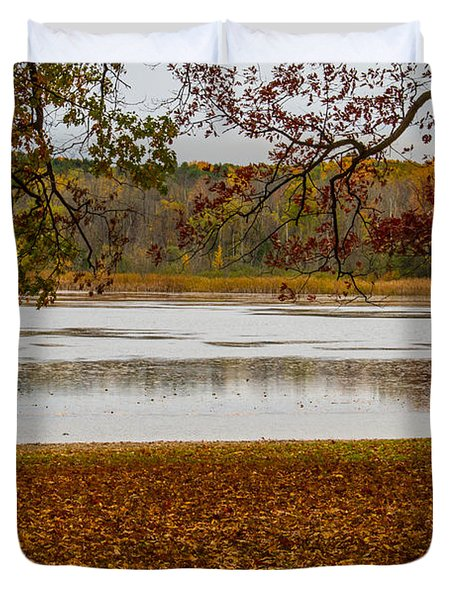 Mendon Ponds Duvet Cover