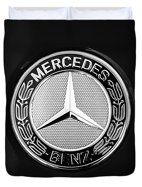 Mercedes-benz 6.3 Gullwing Emblem Duvet Cover