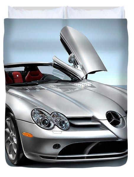 Mercedes Benz Slr Mclaren Duvet Cover