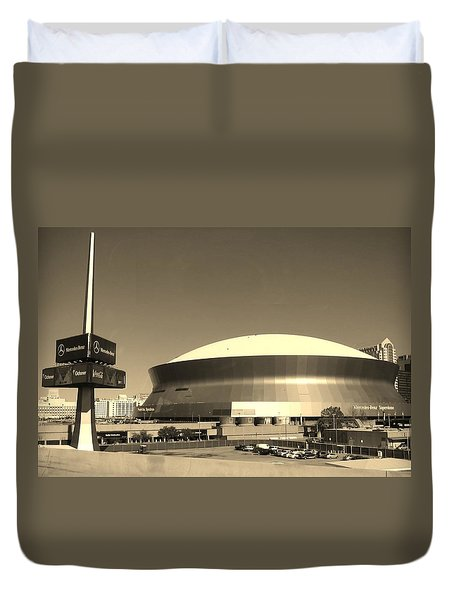 Mercedes Benz Superdome - New Orleans La Duvet Cover