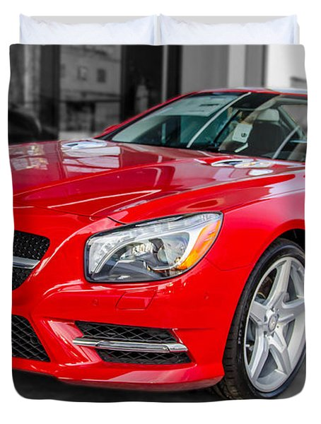 Mercedes Sl550   7d01718 Duvet Cover