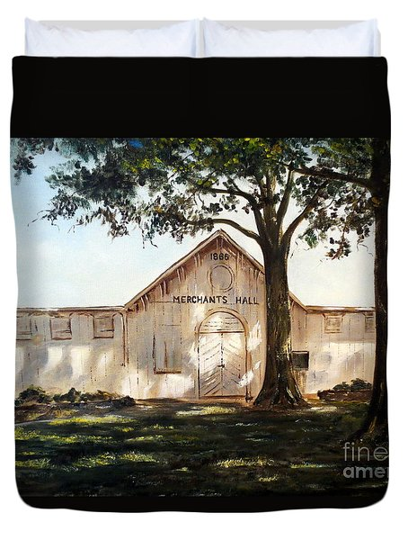 Merchants Hall Duvet Cover by Lee Piper
