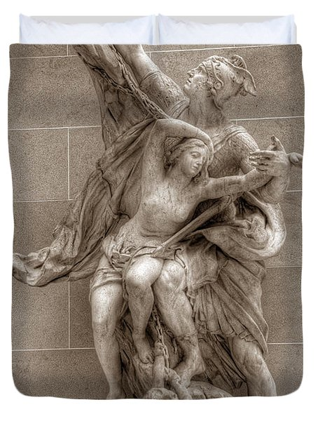 Mercury And Psyche Duvet Cover
