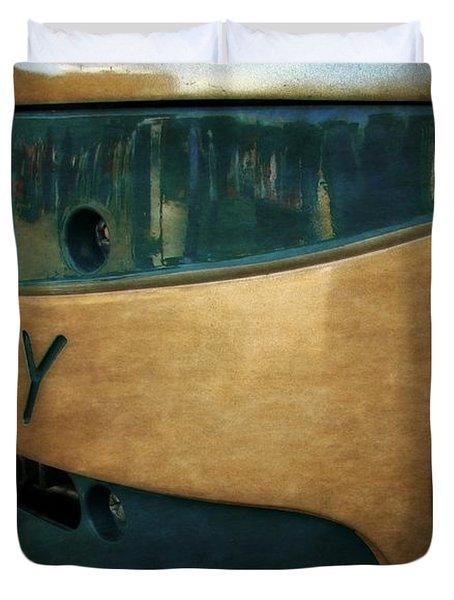 Mercury Mark 20 Outboard Motor Duvet Cover