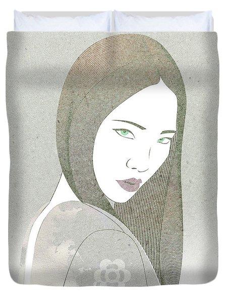 Mercy Duvet Cover