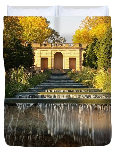 Meridian Hill Park Waterfall Duvet Cover