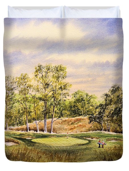 Merion Golf Club Duvet Cover by Bill Holkham