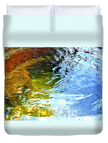 Mermaids Den Duvet Cover