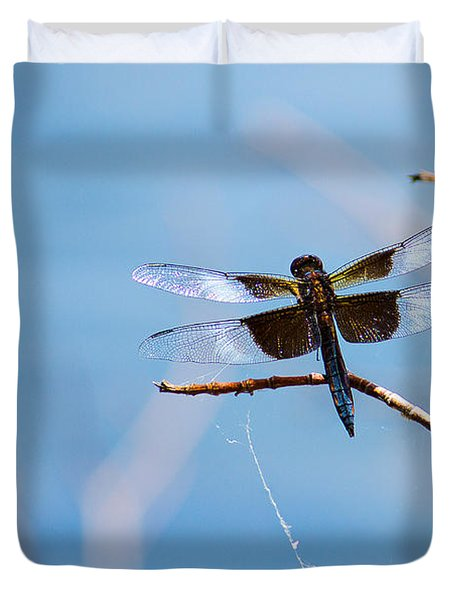 Merrill Creek Dragonfly Duvet Cover