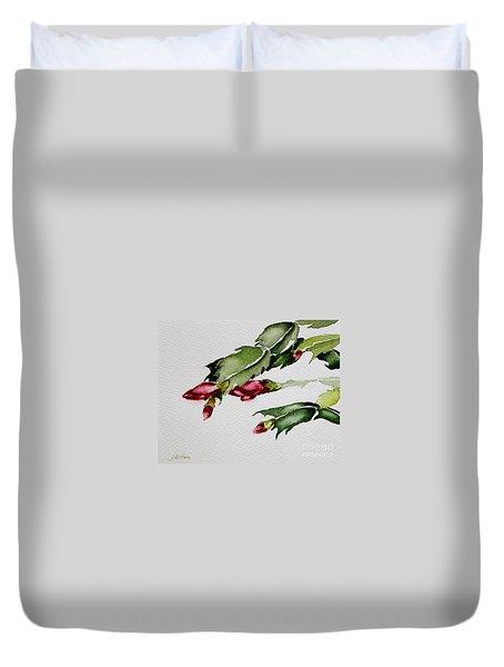 Merry Christmas Cactus 2013 Duvet Cover