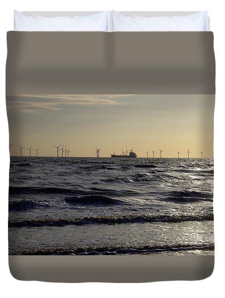 Mersey Tanker Duvet Cover