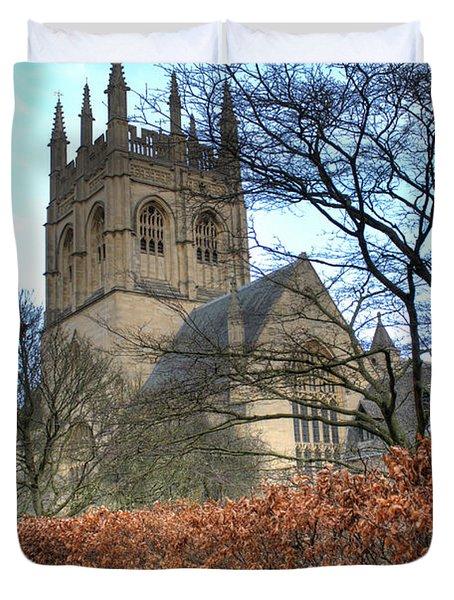 Merton College Chapel Duvet Cover