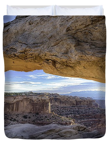 Mesa Arch Canyonlands Duvet Cover