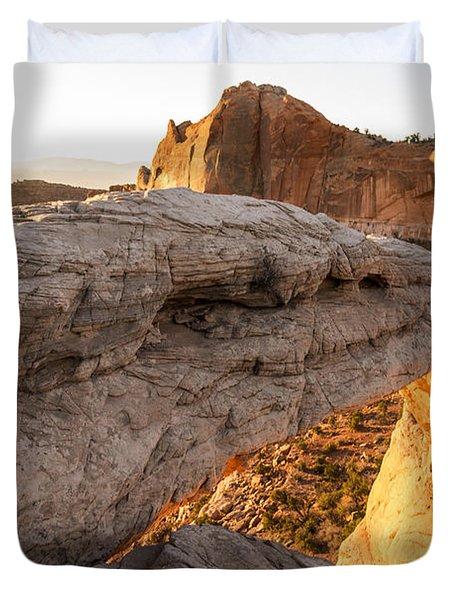 Mesa Arch Sunrise 6 - Canyonlands National Park - Moab Utah Duvet Cover by Brian Harig