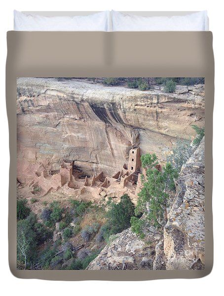 Mesa Verde Colorado Cliff Dwellings 1 Duvet Cover