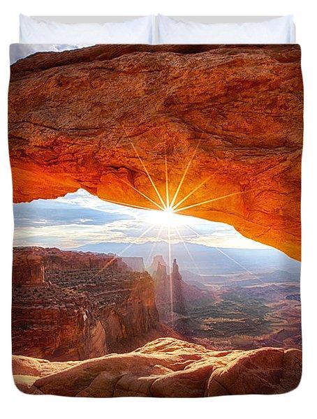 Mesa's Sunrise Duvet Cover