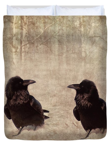 Messenger Duvet Cover by Priska Wettstein