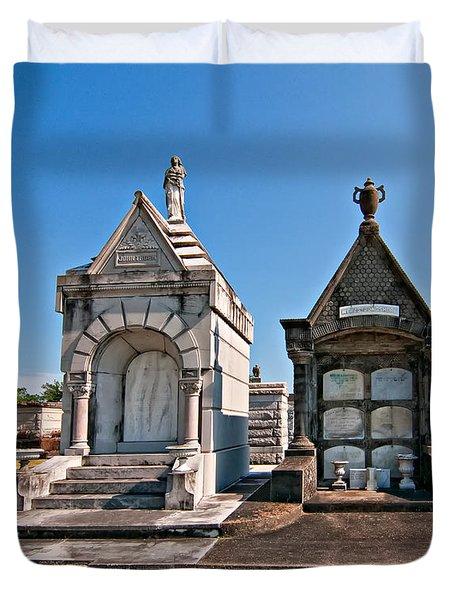Metairie Cemetery 4 Duvet Cover by Steve Harrington