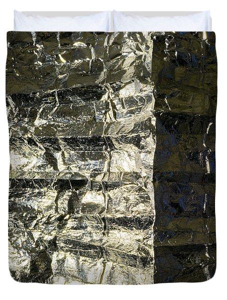 Metallic Reflection Duvet Cover
