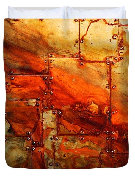 Metalwood Duvet Cover