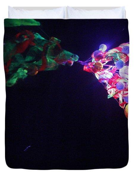 Metamorphosis Duvet Cover by Nina Efk