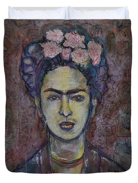 Metamorphosis Frida Duvet Cover