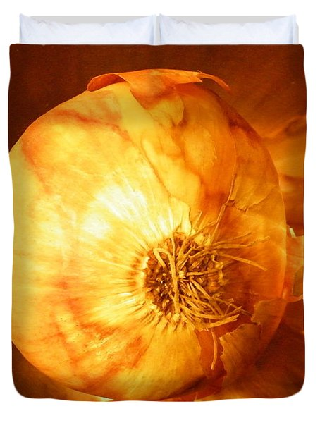 Meteoric Onion Duvet Cover by Brian Boyle