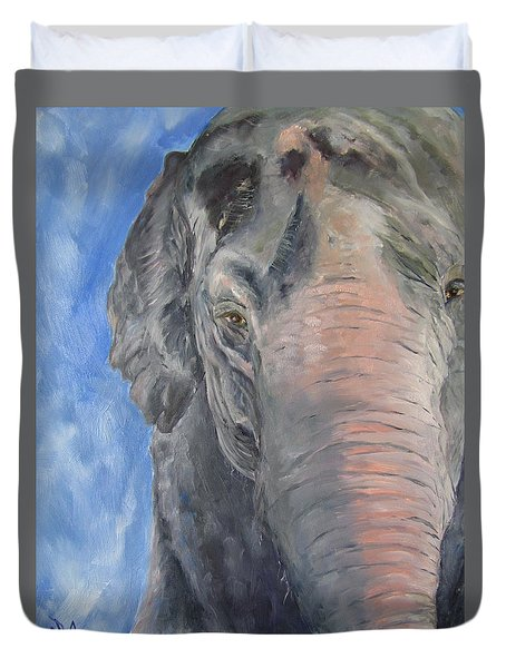 The Elder, Methai An Elephant Duvet Cover