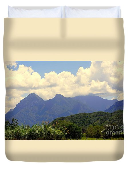 Mexican Mountains 1 Duvet Cover