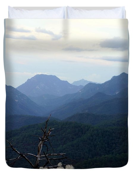 Mexican Mountains 14 Duvet Cover