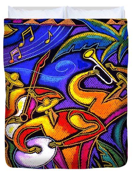 Latin Music Duvet Cover