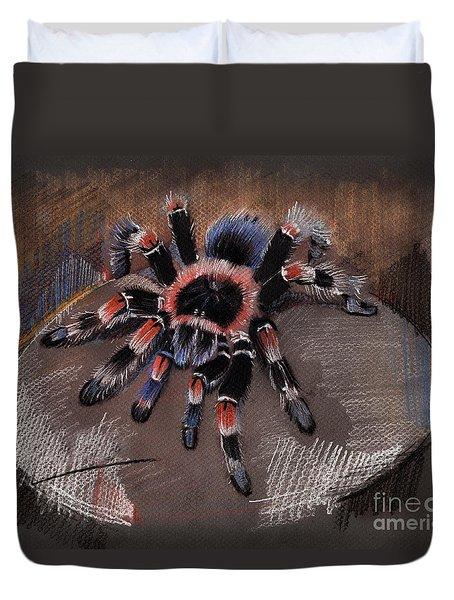 Mexican Redknee Tarantula Duvet Cover