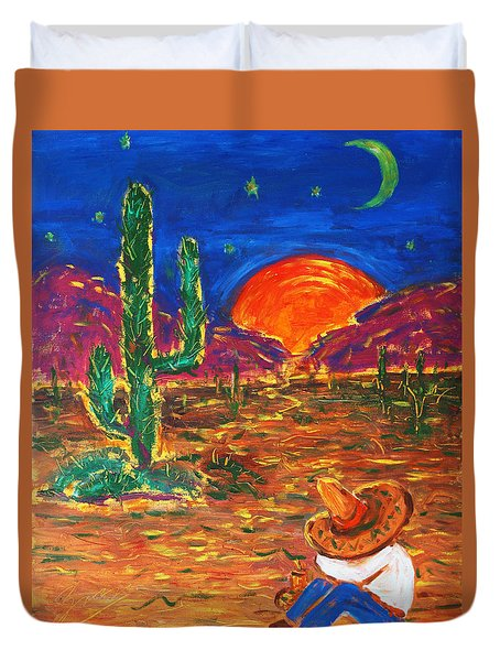 Mexico Impression IIi Duvet Cover
