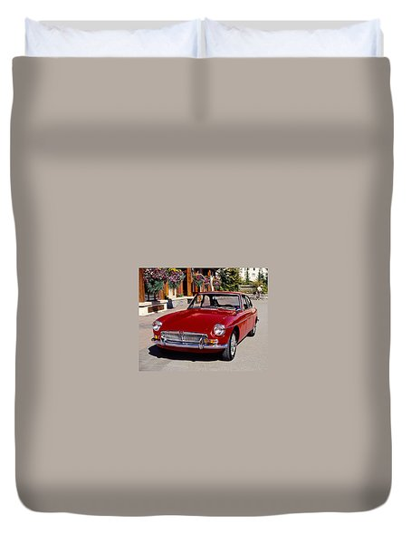 Mgb In Whistler Duvet Cover