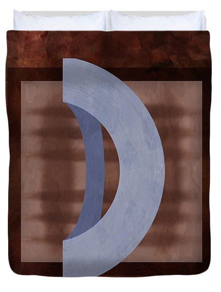 Mgl - Abstract Mono 01 I Duvet Cover