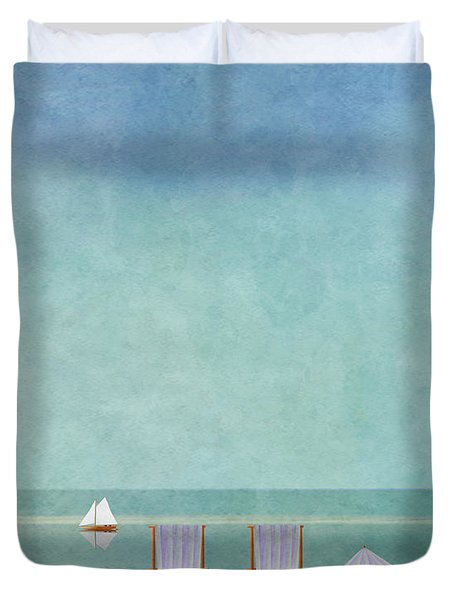 Mgl - Bathers 02 Duvet Cover