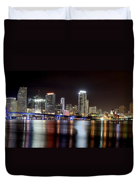 Miami - Florida  Duvet Cover