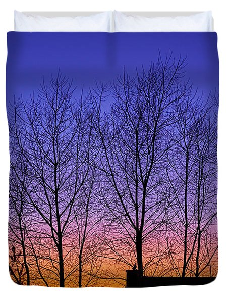 Miami Sky Duvet Cover