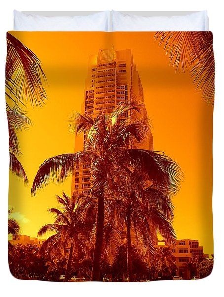 Miami South Pointe Iv Duvet Cover
