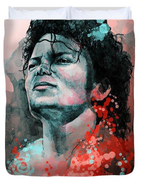 Michael Jackson 13 Duvet Cover
